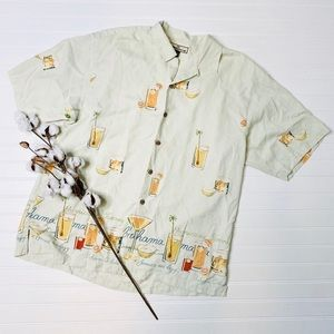 Tommy Bahama Hurricane Tommy Silk Hawaiian Shirt